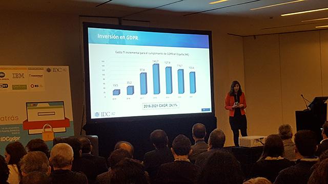 Conferencia anual IDC GDPR 2017