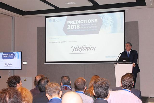 #predictionsTIC 2018 transformación digital Jorge Gil