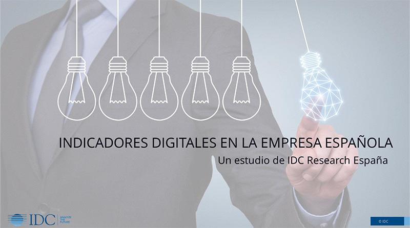 Indicadores Digitales empresa española IDC Research España_transformación digital